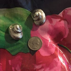 CLIPS -Sterling Silver earrings